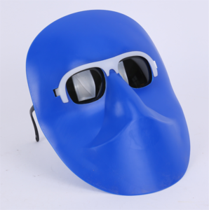 Human face Welding plastic mask (1)
